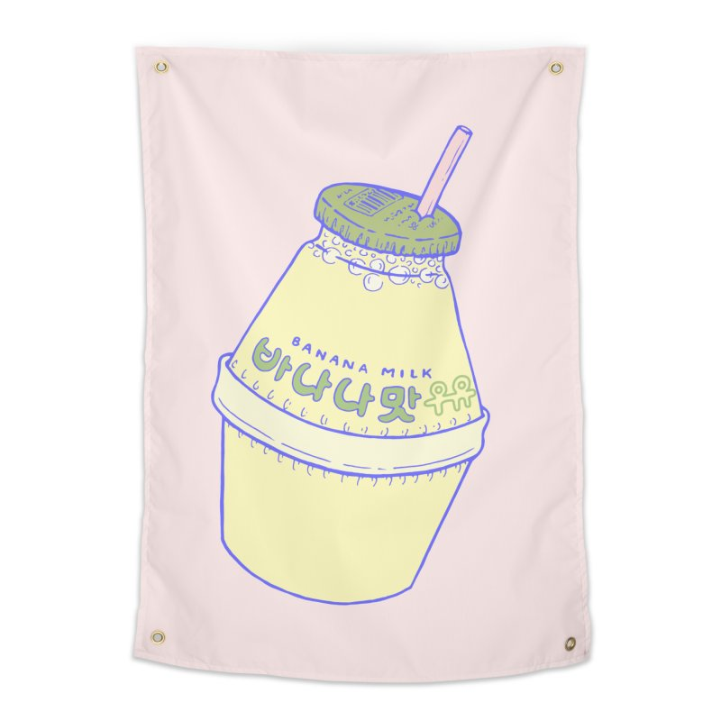 Banana Milk Home Tapestry by Laura OConnor