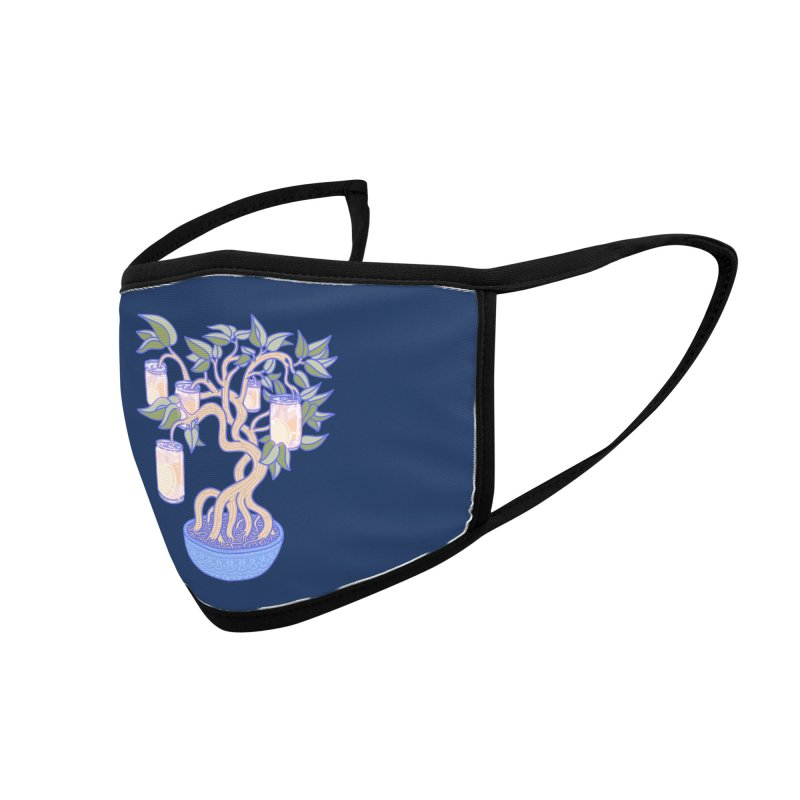 Peach Tree Accessories Face Mask by Laura OConnor