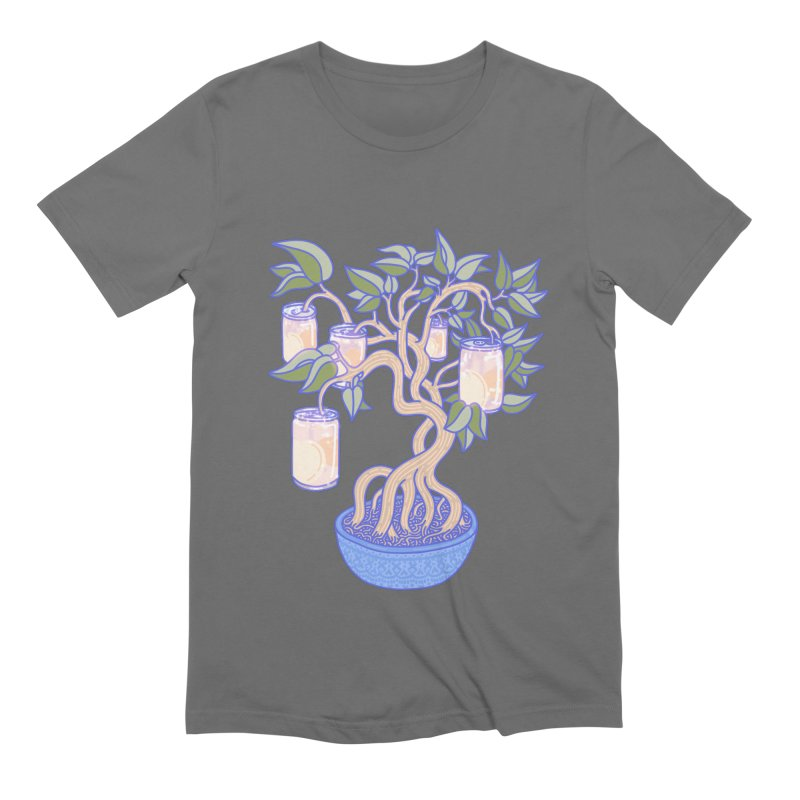 Peach Tree Men's T-Shirt by Laura OConnor