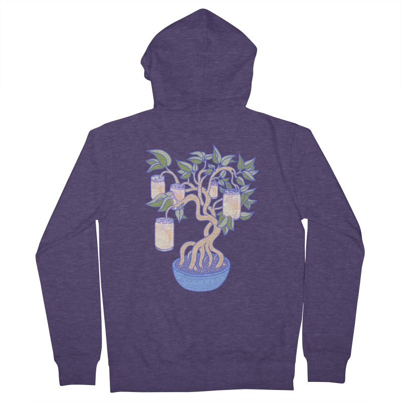 Peach Tree Men's French Terry Zip-Up Hoody by Laura OConnor