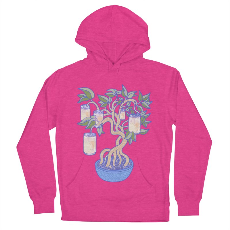 Peach Tree Men's French Terry Pullover Hoody by Laura OConnor