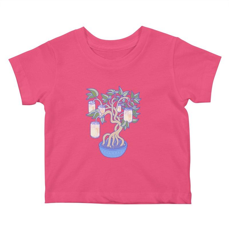 Peach Tree Kids Baby T-Shirt by Laura OConnor