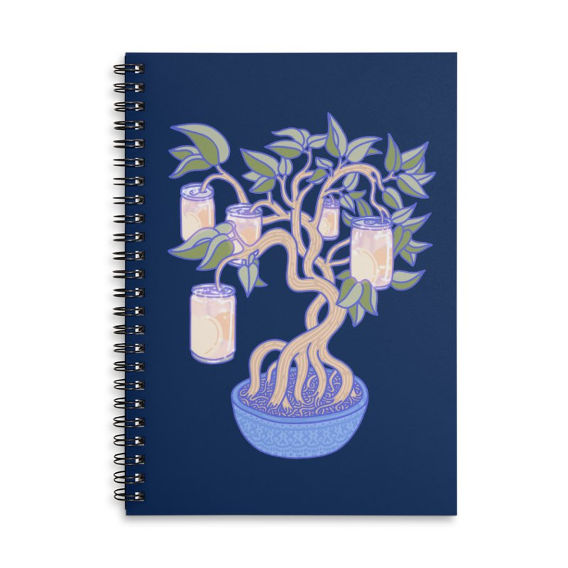 Peach Tree Accessories Notebook by Laura OConnor