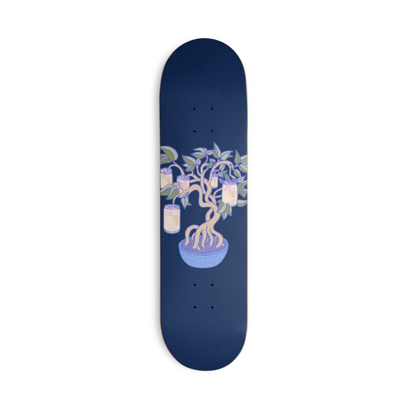 Peach Tree Accessories Skateboard by Laura OConnor