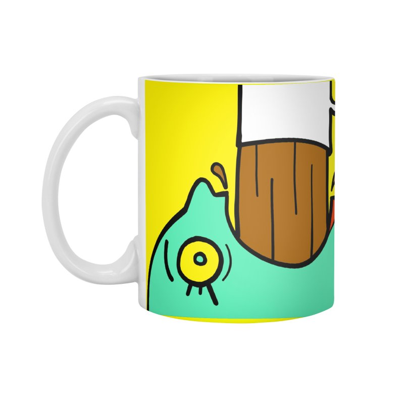Caffiend Accessories Standard Mug by LAURA SANDERS