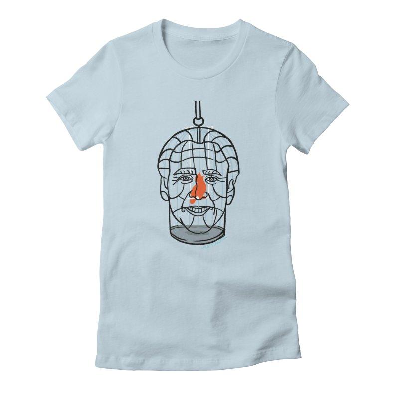Nicolas Bird Cage Women's T-Shirt by LAURA SANDERS