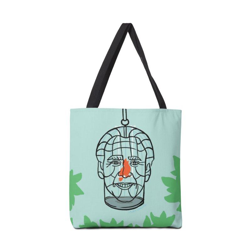 Nicolas Bird Cage Accessories Tote Bag Bag by LAURA SANDERS