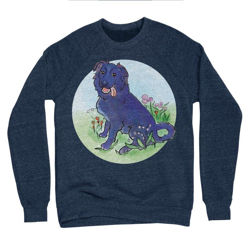 Opal! Men's Sponge Fleece Sweatshirt by LAURA SANDERS