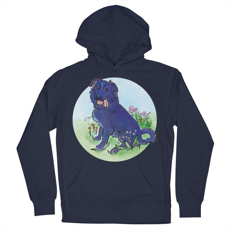 Opal! Men's French Terry Pullover Hoody by LAURA SANDERS