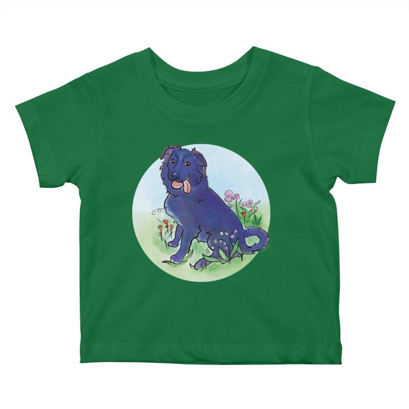 Opal! Kids Baby T-Shirt by LAURA SANDERS