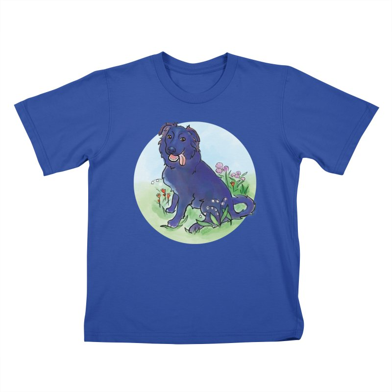 Opal! Kids T-Shirt by LAURA SANDERS