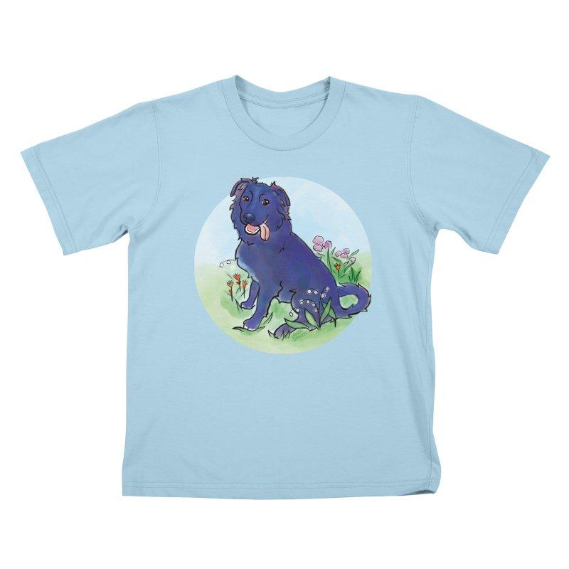 Opal! Kids T-Shirt by LAURA SANDERS