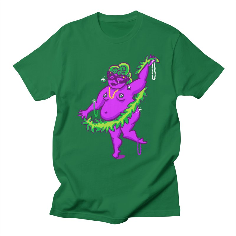 Phat Tuesday Men's T-Shirt by LAURA SANDERS