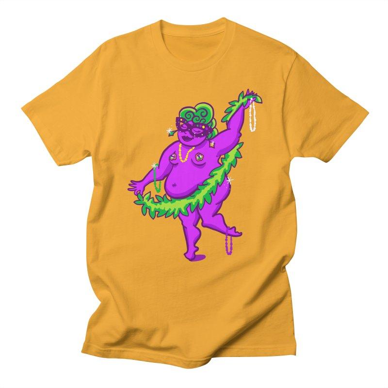 Phat Tuesday Men's Regular T-Shirt by LAURA SANDERS