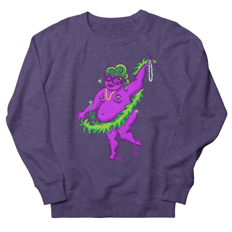 Phat Tuesday Women's French Terry Sweatshirt by LAURA SANDERS
