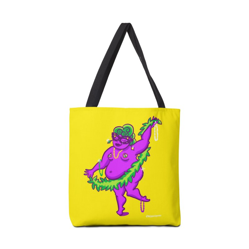 Phat Tuesday Accessories Tote Bag Bag by LAURA SANDERS