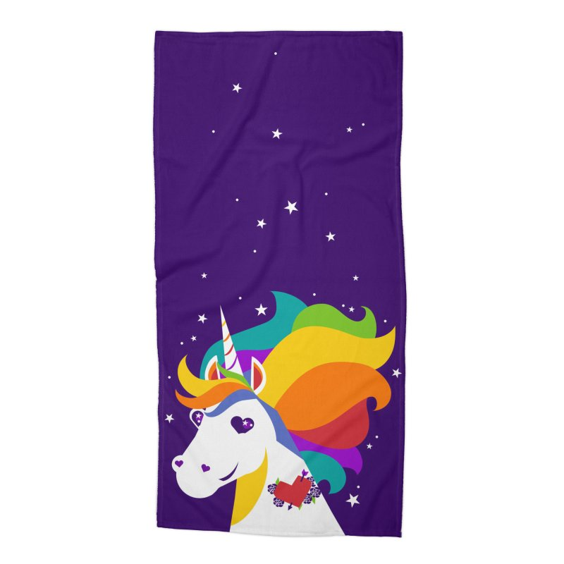 Near & Queer to My Heart Accessories Beach Towel by LAURA SANDERS