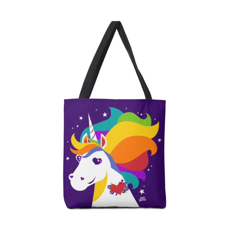 Near & Queer to My Heart Accessories Tote Bag Bag by LAURA SANDERS
