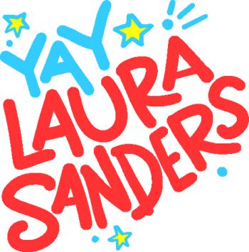LAURA SANDERS Logo