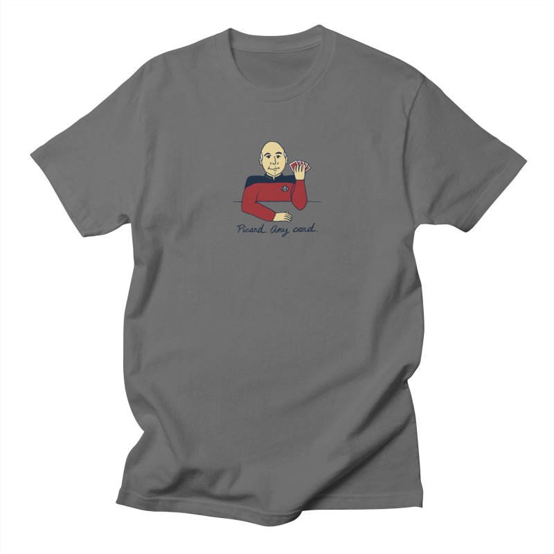Captain Picard Men's T-Shirt by laurastead's Artist Shop