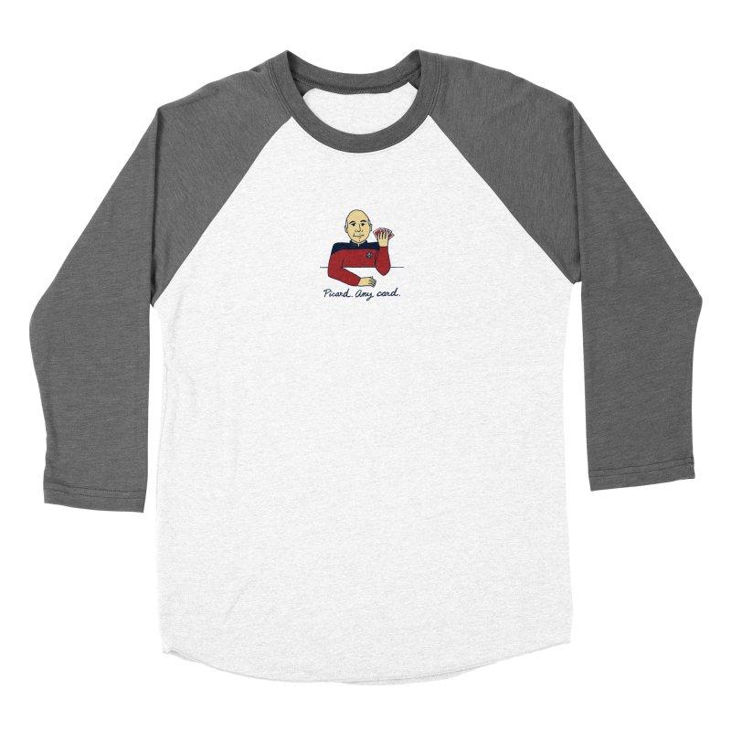 Captain Picard Women's Longsleeve T-Shirt by laurastead's Artist Shop