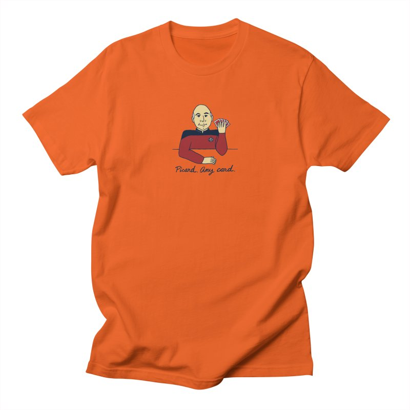 Captain Picard Men's Regular T-Shirt by laurastead's Artist Shop
