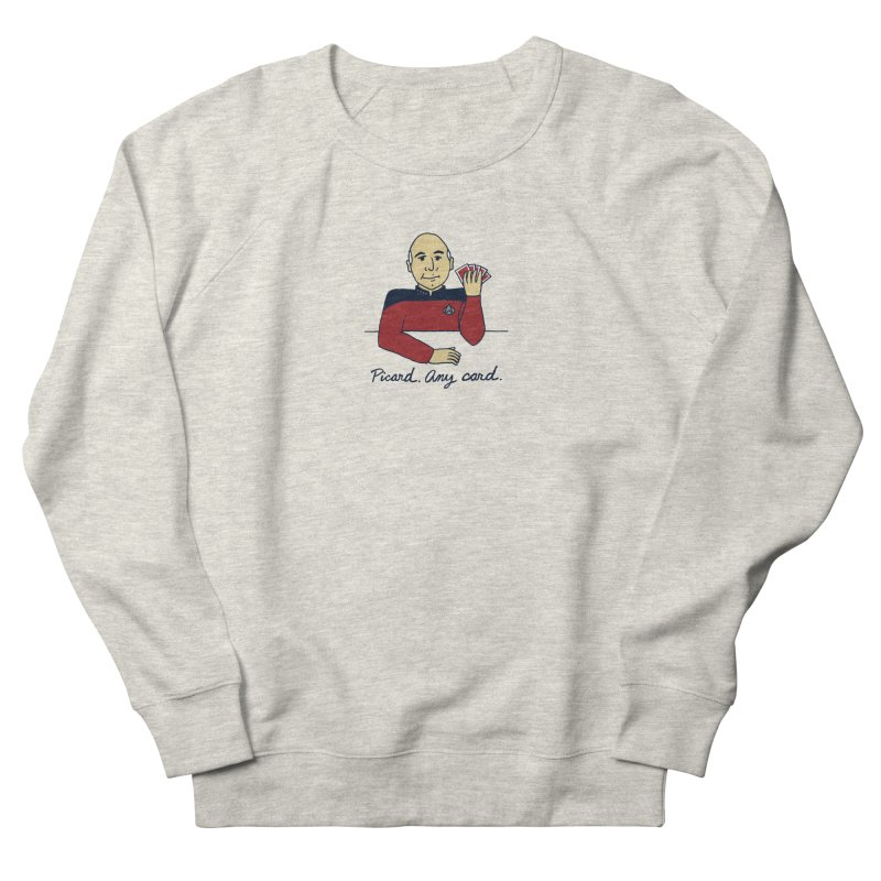 Captain Picard Women's Sweatshirt by laurastead's Artist Shop