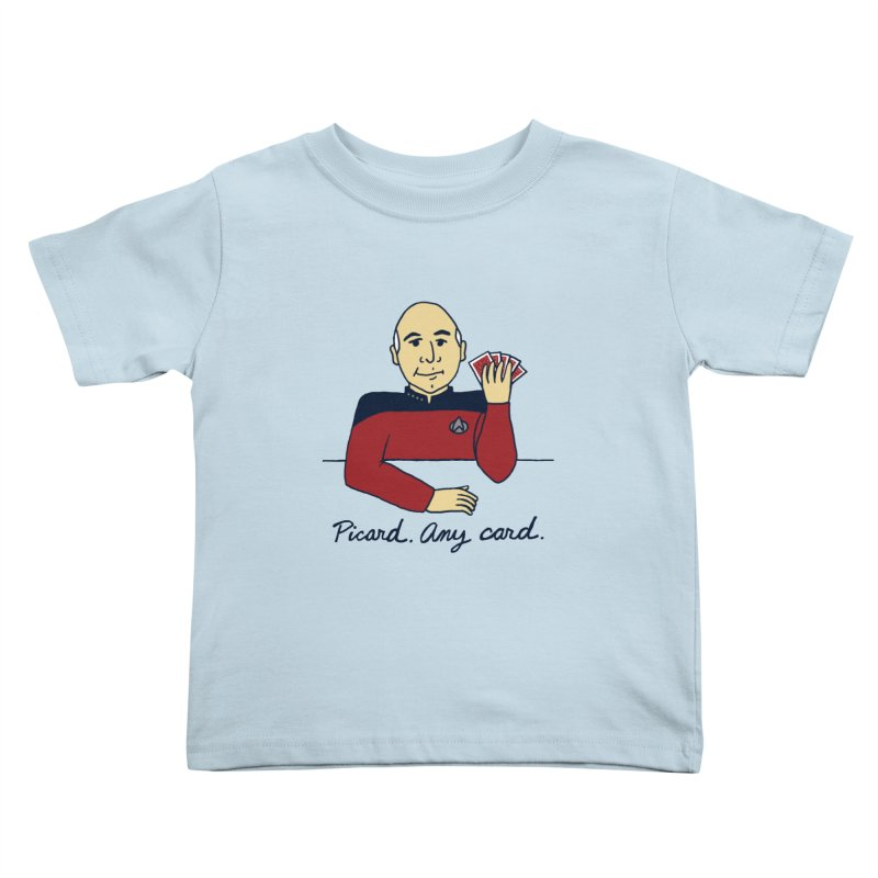 Captain Picard Kids Toddler T-Shirt by laurastead's Artist Shop