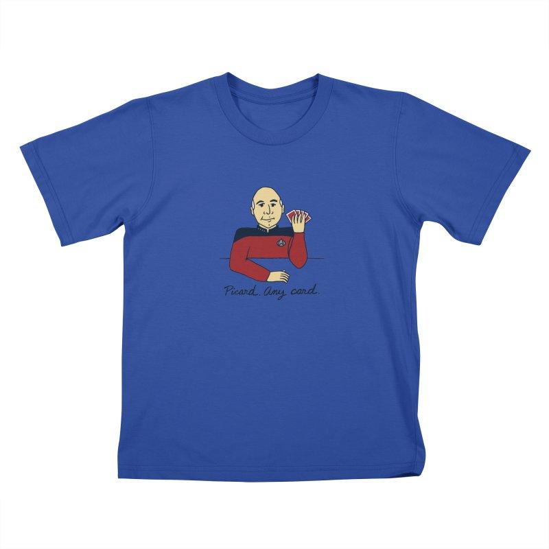 Captain Picard Kids T-Shirt by laurastead's Artist Shop