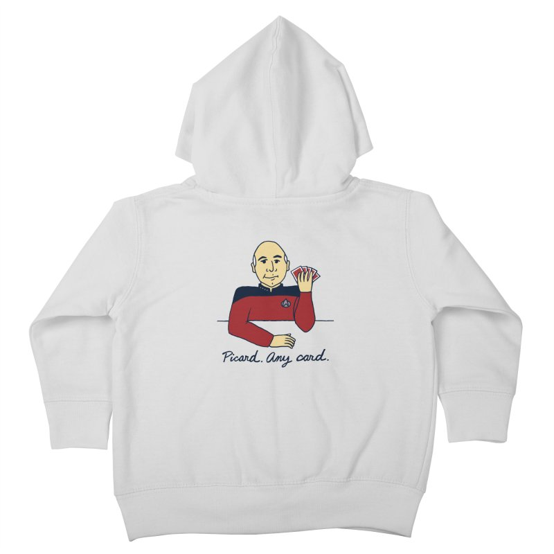 Captain Picard Kids Toddler Zip-Up Hoody by laurastead's Artist Shop