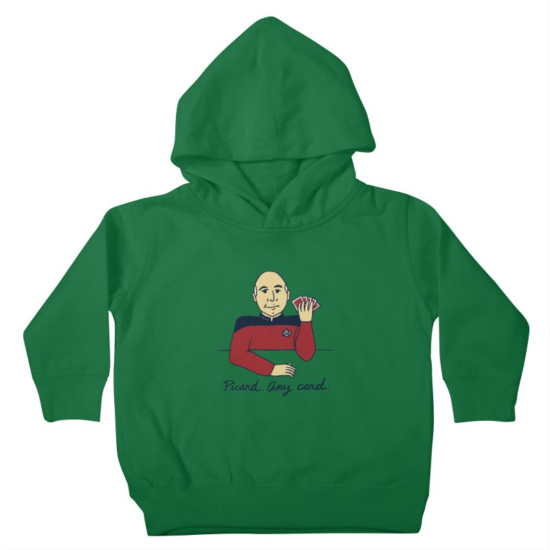 Captain Picard Kids Toddler Pullover Hoody by laurastead's Artist Shop