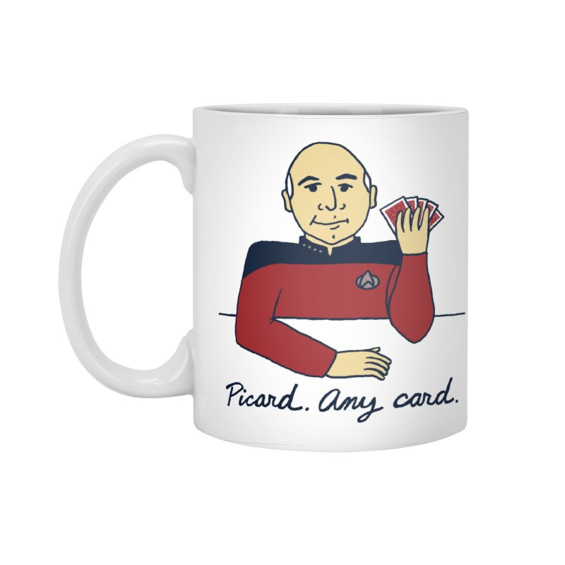 Captain Picard Accessories Standard Mug by laurastead's Artist Shop