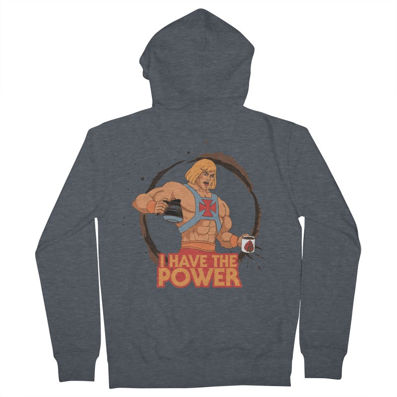 Master of the Brewniverse Men's French Terry Zip-Up Hoody by laurastead's Artist Shop