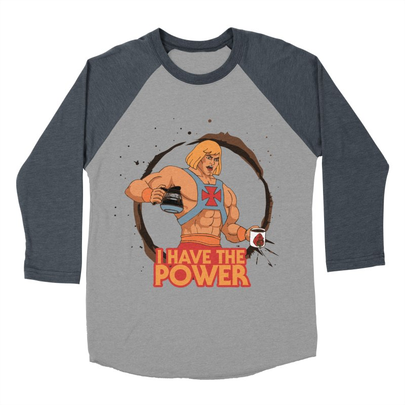 Master of the Brewniverse Men's Baseball Triblend Longsleeve T-Shirt by laurastead's Artist Shop
