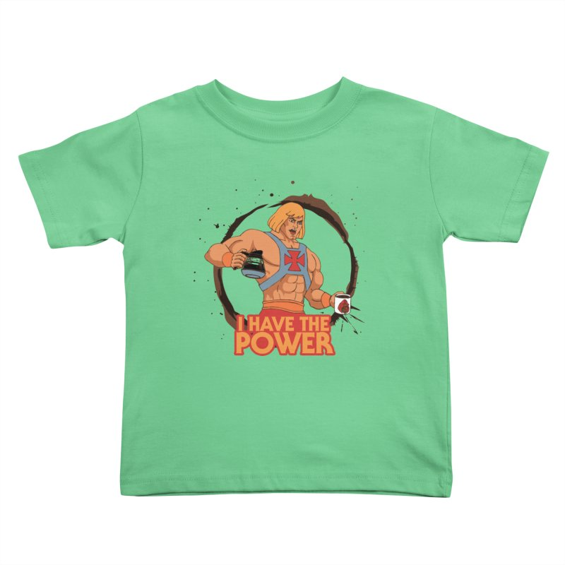 Master of the Brewniverse Kids Toddler T-Shirt by laurastead's Artist Shop