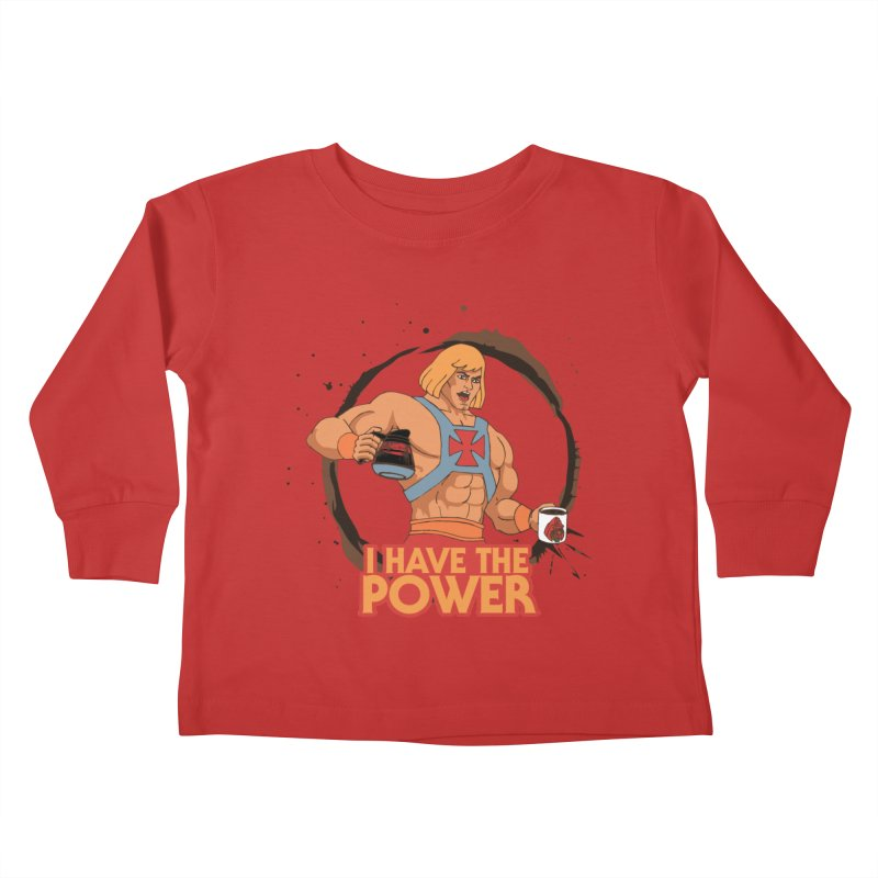 Master of the Brewniverse Kids Toddler Longsleeve T-Shirt by laurastead's Artist Shop