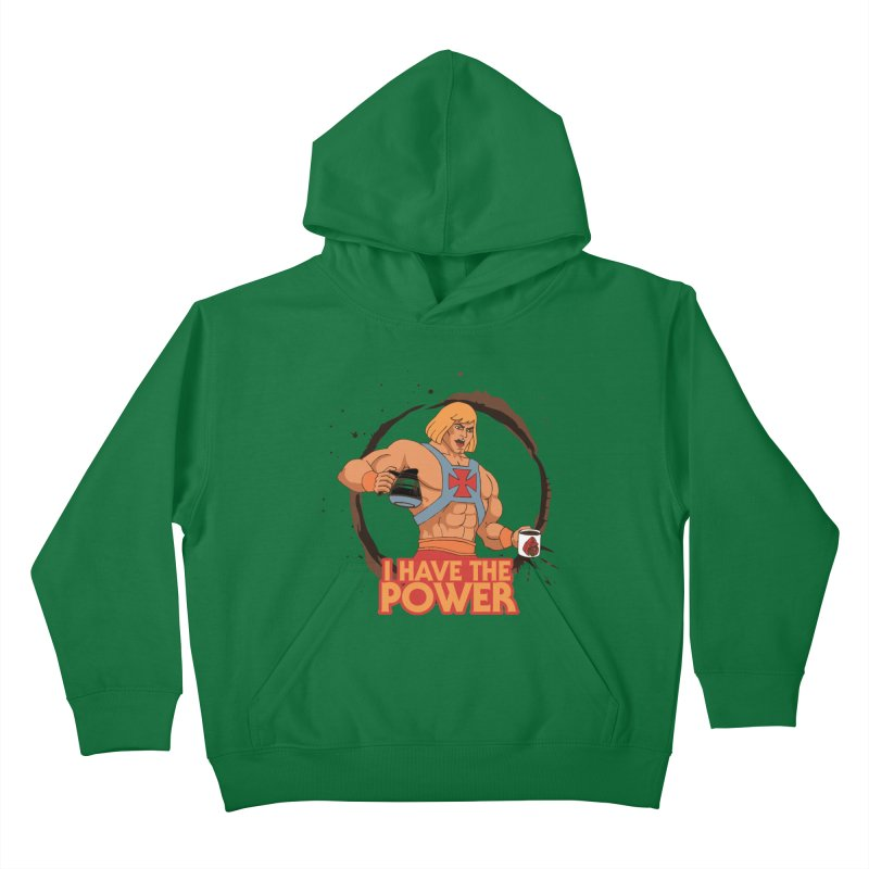 Master of the Brewniverse Kids Pullover Hoody by laurastead's Artist Shop