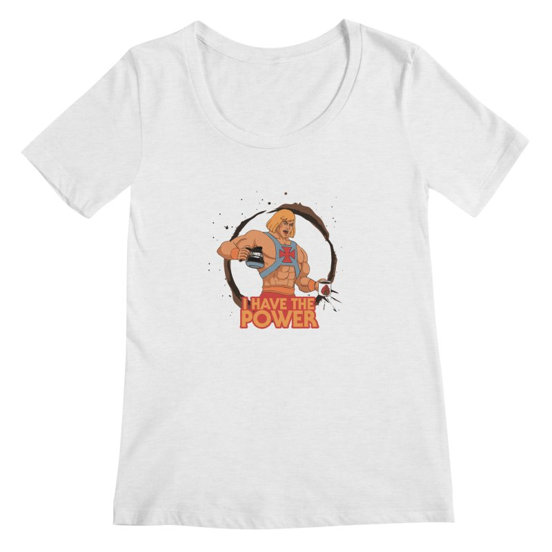 Master of the Brewniverse Women's Scoopneck by laurastead's Artist Shop