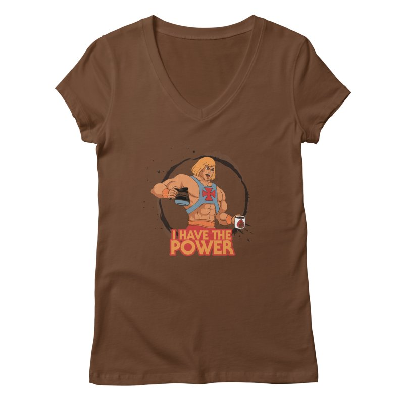 Master of the Brewniverse Women's Regular V-Neck by laurastead's Artist Shop