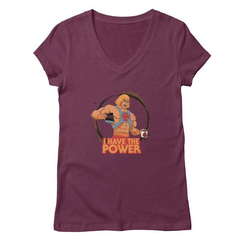 Master of the Brewniverse Women's V-Neck by laurastead's Artist Shop