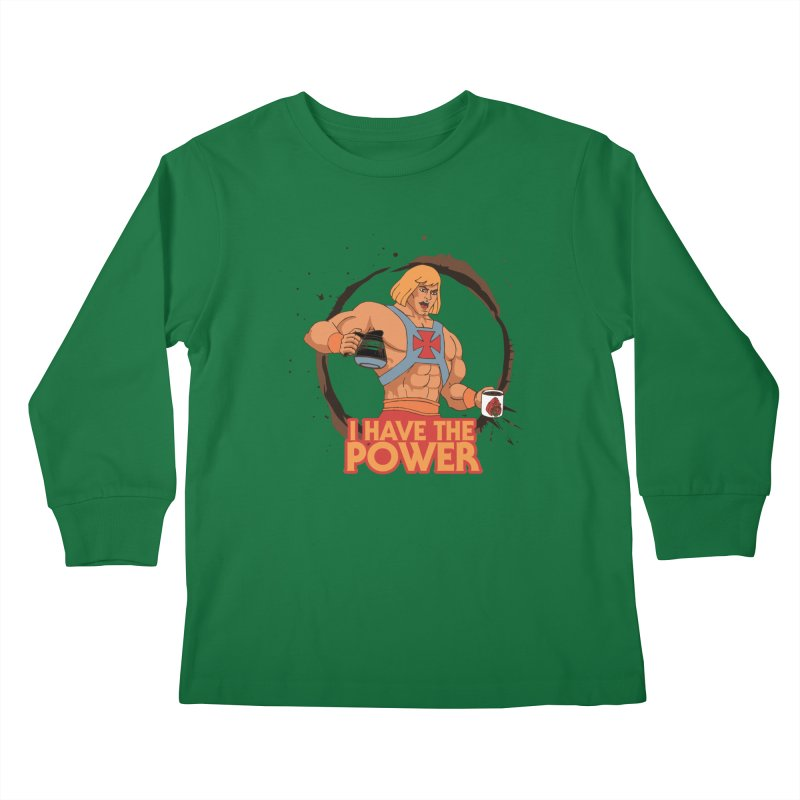 Master of the Brewniverse Kids Longsleeve T-Shirt by laurastead's Artist Shop