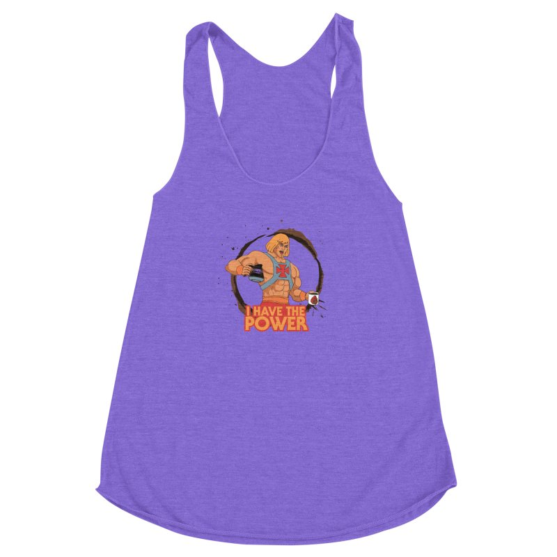 Master of the Brewniverse Women's Racerback Triblend Tank by laurastead's Artist Shop