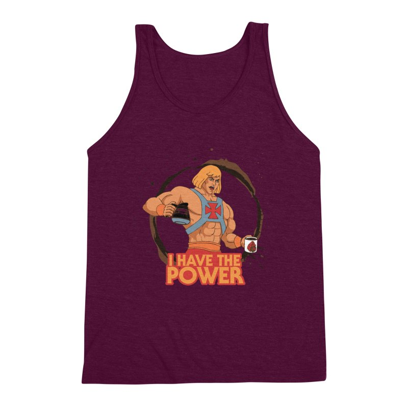 Master of the Brewniverse Men's Triblend Tank by laurastead's Artist Shop