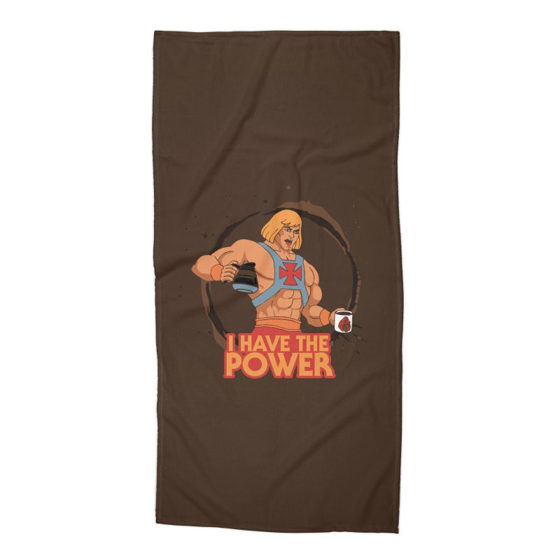 Master of the Brewniverse Accessories Beach Towel by laurastead's Artist Shop