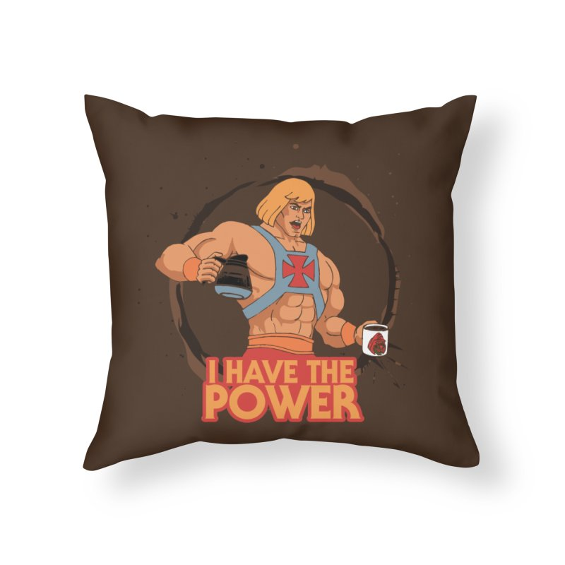 Master of the Brewniverse Home Throw Pillow by laurastead's Artist Shop