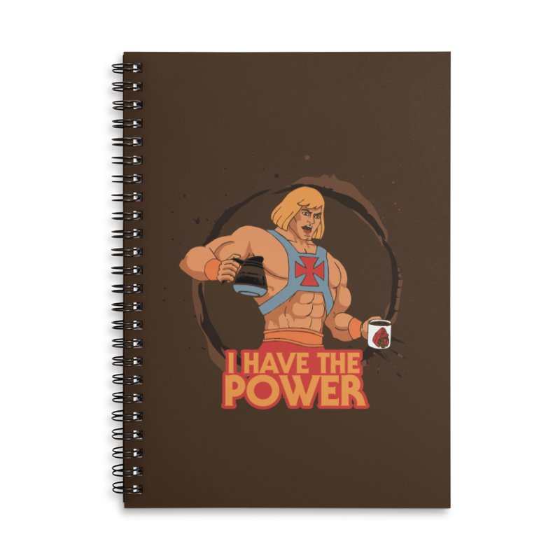Master of the Brewniverse Accessories Lined Spiral Notebook by laurastead's Artist Shop