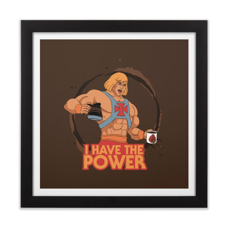 Master of the Brewniverse Home Framed Fine Art Print by laurastead's Artist Shop