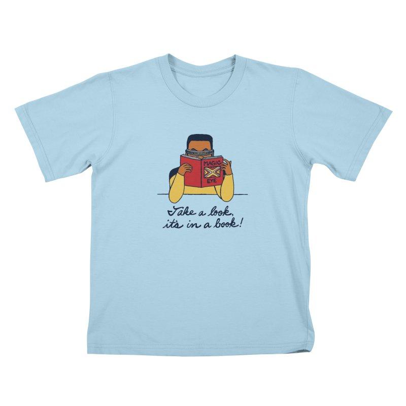 Take A Look Kids T-Shirt by laurastead's Artist Shop