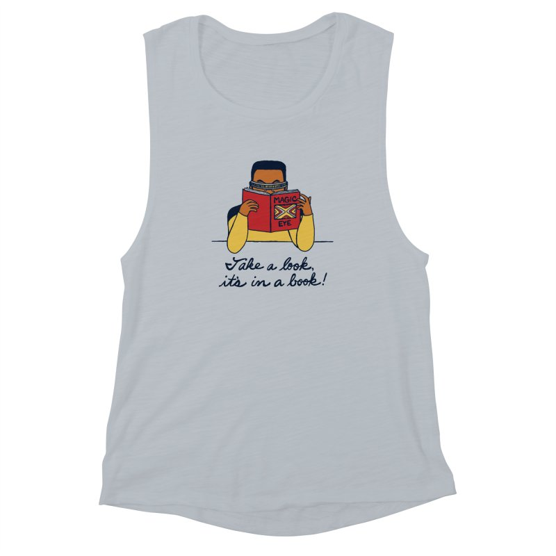 Take A Look Women's Muscle Tank by laurastead's Artist Shop