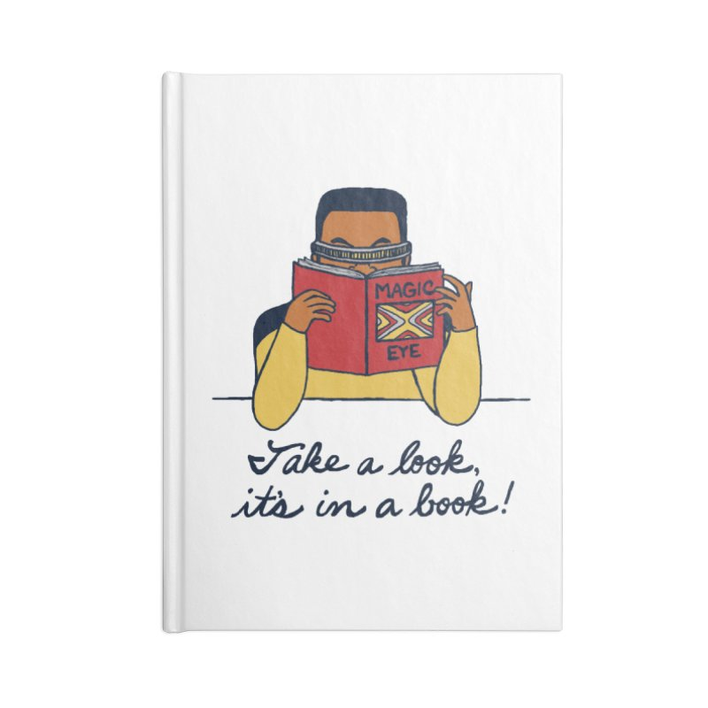 Take A Look Accessories Lined Journal Notebook by laurastead's Artist Shop